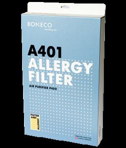 Tilbehør Allergi-filter A401